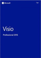 SCDKey.com, Visio Professional 2016 Key Global