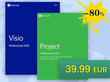 SCDKey.com, Project Professional 2016 + Visio Professional 2016 Key Global