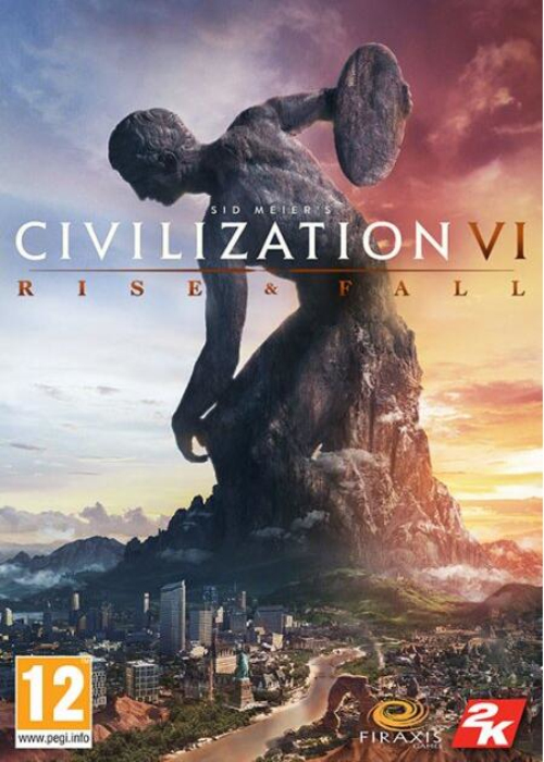 Civilization VI Rise And Fall DLC Steam CD Key EU