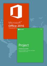 SCDKey.com, Office2016 Professional Plus + Project Professional 2016 CD Key Pack