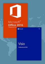 SCDKey.com, Office2016 Professional Plus + Visio Professional 2016  CD Key Pack