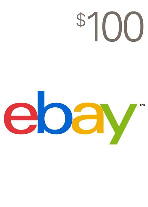 Ebay Gift Card 100 USD