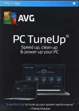 Official AVG TuneUp 2017 1 PC 1 YEAR Global