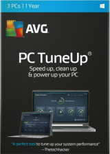 Official AVG TuneUp 2017 3 PC 1 YEAR Global