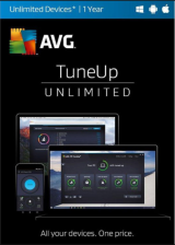 Official AVG TuneUp 2017 Unlimited Devices 1 YEAR Global