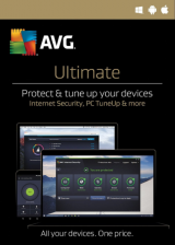 Official AVG Ultimate 2017 Unlimited Devices 1 YEAR Global