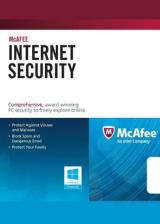 Official McAfee Internet Security 2017 3 PC 1 YEAR Global