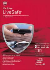 Official McAfee Livesafe 2017 Unlimited Devices 1 YEAR Global