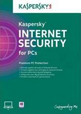 Official Kaspersky 2018 Internet Security 3 PC 1 YEAR EU