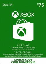SCDKey.com, XBOX Live Gift Card 75 USD Key