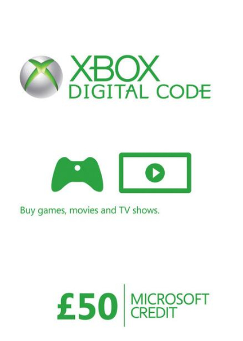 XBOX Live Gift Card 50 GBP Key