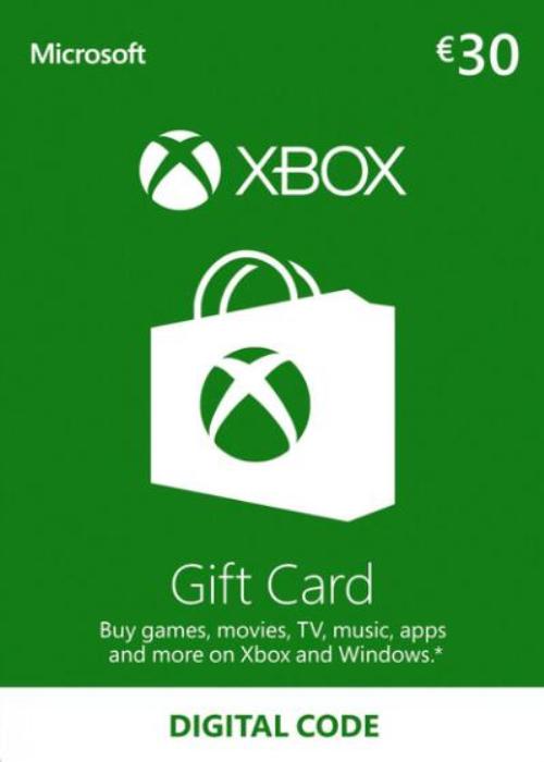 XBOX Live Gift Card 30 EUR Key