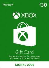 SCDKey.com, XBOX Live Gift Card 30 EUR Key