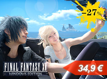 SCDKey.com, Final Fantasy XV Windows Edition Steam CD Key Global