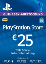 SCDKey.com, Play Station Network 25 EUR DE