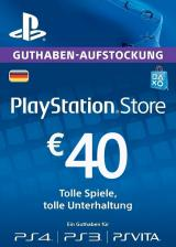 Official Play Station Network 40 EUR DE