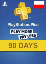 SCDKey.com, Playstation Plus 90 Days Poland