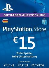 SCDKey.com, Play Station Network 15 EUR DE