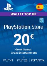 SCDKey.com, Play Station Network 20 EUR ES/SPAIN