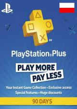 SCDKey.com, Playstation Plus 90 Days Poland