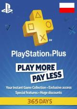 SCDKey.com, Playstation Plus 365 Days Poland