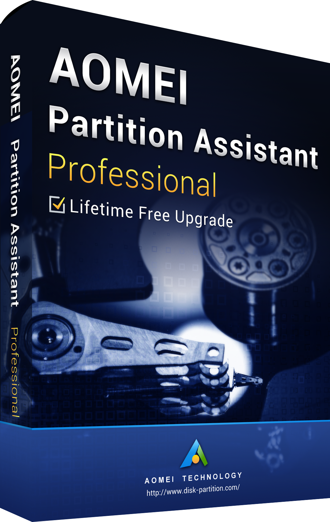 AOMEI Partition Assistant Professional + Free Lifetime Upgrades 8.0 Edition Key Global