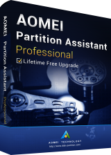 Official AOMEI Partition Assistant Professional + Free Lifetime Upgrades 8.0 Edition Key Global