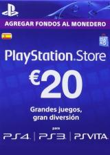 Official Play Station Network 20 EUR ES/SPAIN