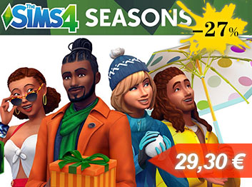 Official The Sims 4 Seasons DLC Key Global