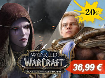 Official World Of Warcraft Battle For Azeroth Expansion Key EU