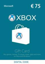 Official XBOX Live Gift Card 75 EUR Key