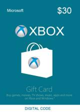 Official XBOX Live Gift Card 30 USD Key