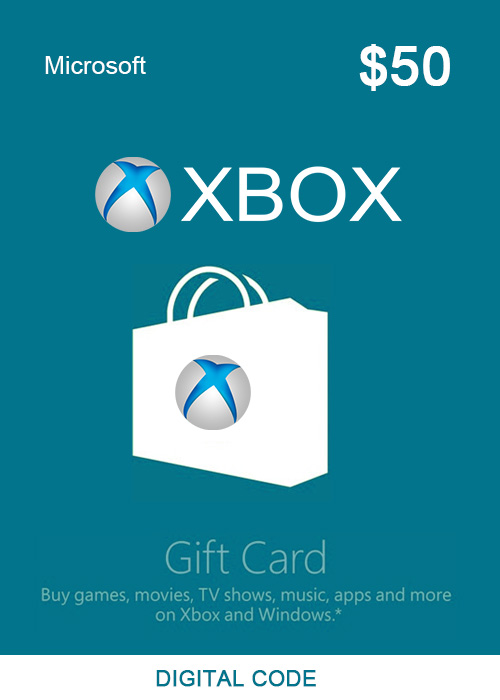 XBOX Live Gift Card 50 USD Key