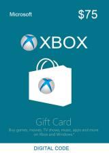 Official XBOX Live Gift Card 75 USD Key