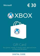 Official XBOX Live Gift Card 30 EUR Key