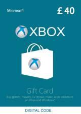 Official XBOX Live Gift Card 40 GBP Key