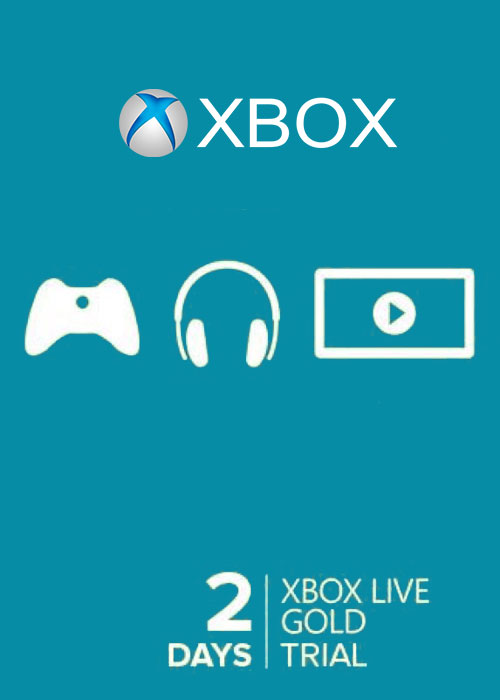 Xbox 360 Xbox One Live Gold 2 Days Trial