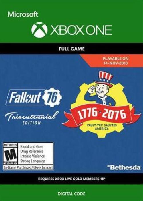 Fallout 76 Tricentennial Xbox One Digital Code Global