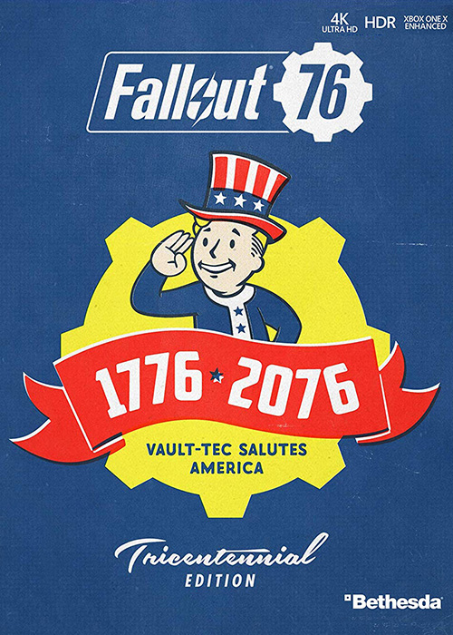 Fallout 76 Tricentennial Xbox One Digital Code Global