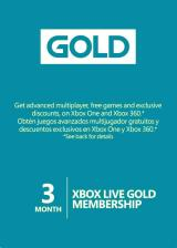 Official Xbox live 3 Month Gold Membership Digital Code