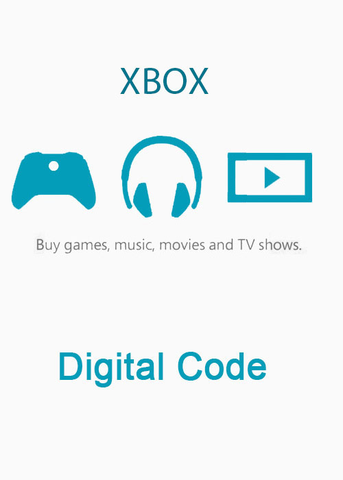 Xbox Live 5 GBP Prepaid Card Digital Code