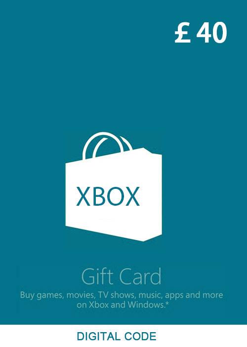 XBOX Live Gift Card 40 GBP Key