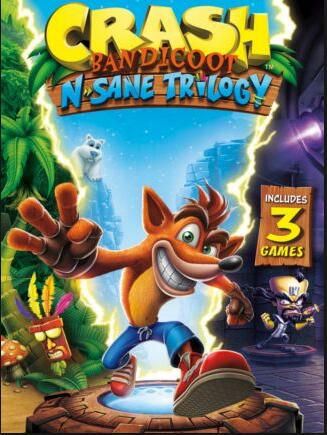 Crash Bandicoot N. Sane Trilogy Steam CD Key EU