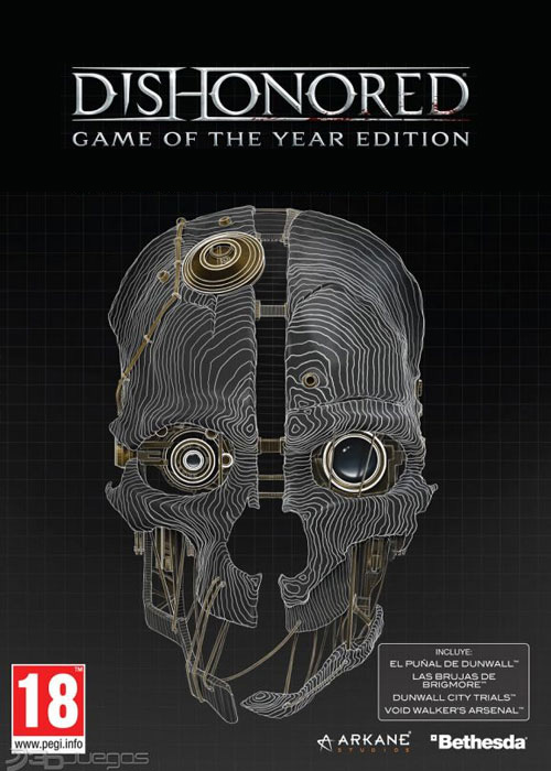 Dishonored GOTY Edition Steam CD Key