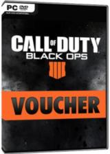 Official Call Of Duty Black Ops 4 Voucher Key