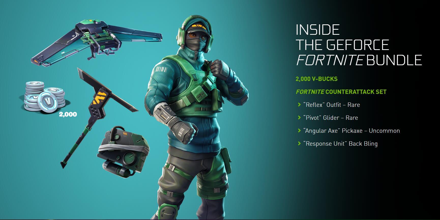GeForce Fortnite Bundle PC Key Global