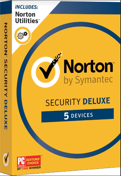 Norton Security Deluxe 5PC 1 Year Symantec Key North America