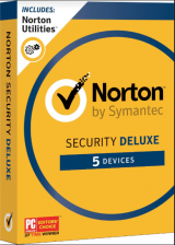 Official Norton Security Deluxe 5PC 1 Year Symantec Key North America