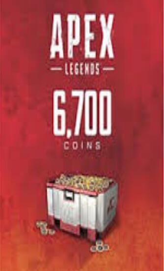 Apex Legends 6000(+700 Bonus) Coins Cloud Activation Key GLOBAL