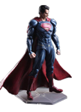 PLAY ARTS DC SUPER HEROES SUPERMAN ACTION FIGURE TOY 26CM
